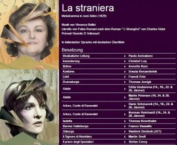 Vídeň: Edita Gruberová v Belliniho Cizince
