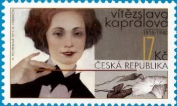 Česká pošta vydá známku s Vítězslavou Kaprálovou
