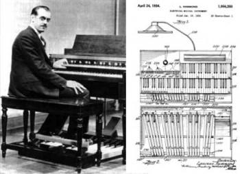Před 120 lety se narodil vynálezce elektrických varhan Hammond