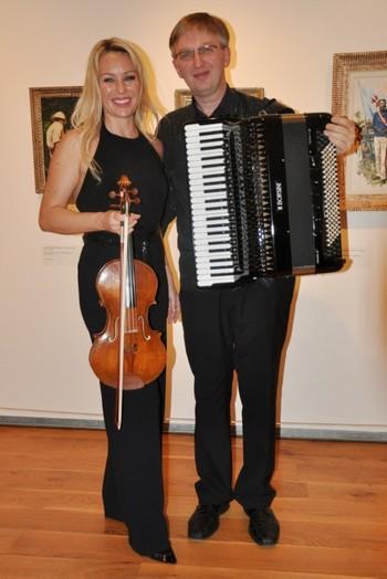 Festival Hudební procházky uměním v Muzeu Kampa s Jitkou Hosprovou