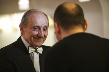 Slavnostní koncert k životnímu jubileu profesora Bohumila Urbana