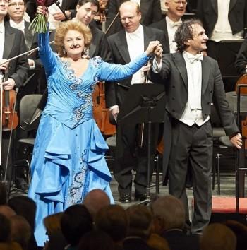 Edita Gruberová slavila 45 let svého působení ve Vídeňské státní opeře