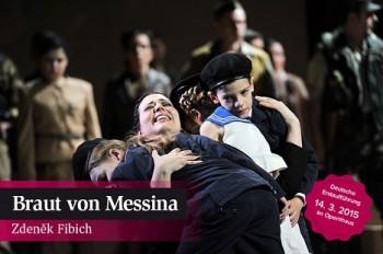 Fibichovu Nevěstu messinskou nastudovali v německém Magdeburku, s Richardem Samkem v jedné z hlavních rolí