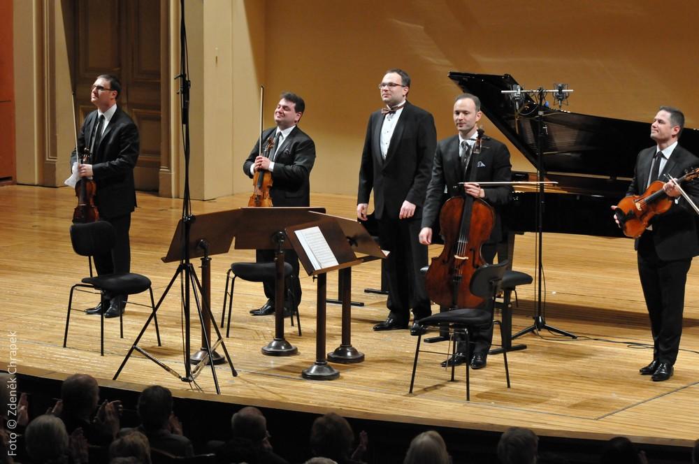 Fantastické muzicírování Jerusalem Quarteta a Davida Marečka