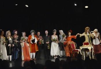 Fotoreportáž: Mozartův Divadelní ředitel v provedení studentů HAMU