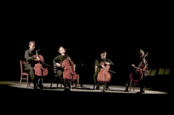 Prague Cello Quartet: virtuózní a inteligentní humor