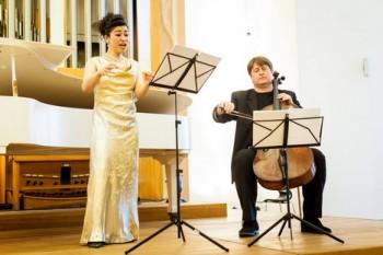 Japonsko-francouzská sopranistka Shigeko Hata v Bratislavě