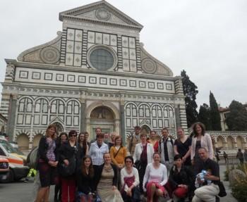 Sbor Notre Dame z Týnského chrámu v Praze na návštěvě ve Florencii
