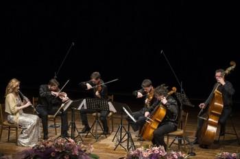 Ludmila Peterková s Bennewitzovým kvartetem na Janáčkově máji