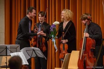 Pražské jaro: Muchovo kvarteto s odvážným programem