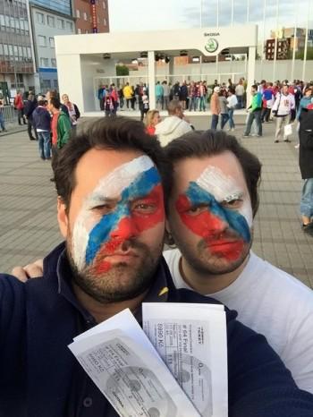 Při hokejovém finále v Praze fandily i zahraniční operní hvězdy
