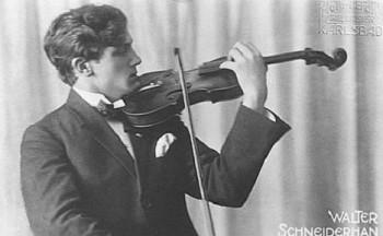 Před 100 lety se narodil mistr houslí Wolfgang Schneiderhan