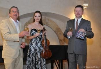 Kristina Fialová pokřtila své nové CD