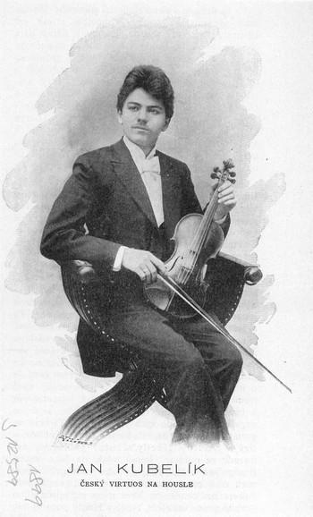 Velký český houslista a skladatel Jan Kubelík (2)