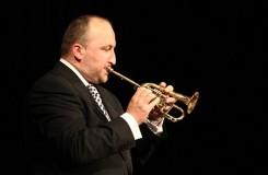 Dnes v Rudolfinu trumpetista Marek Zvolánek