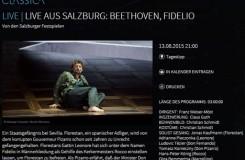 Fidelio ze Salcburku na televizních obrazovkách