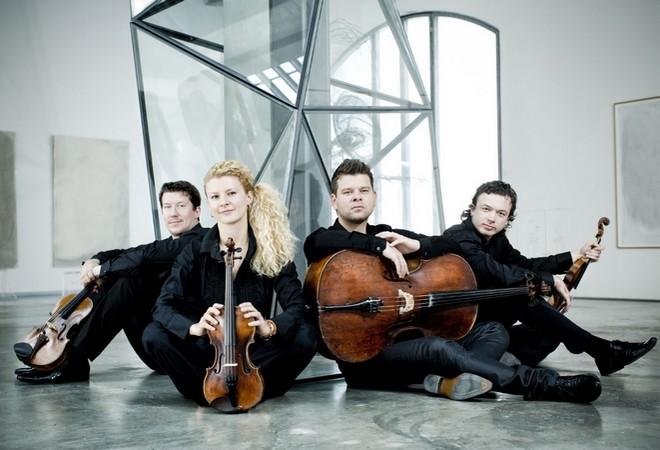 Pavel Haas Quartet (foto Marco Borggreve)