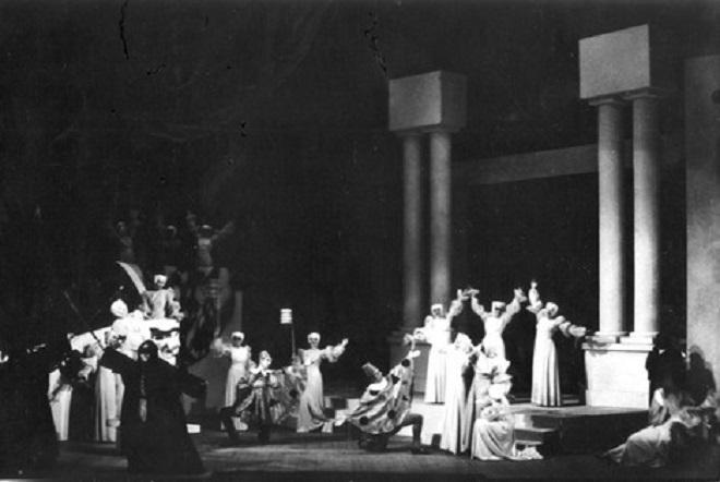 Sergej Prokofjev: Romeo a Julie - ND Brno 1938 (foto archiv)
