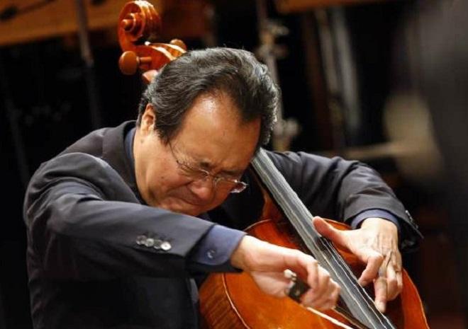 Yo-Yo Ma (Allen J. Schaben / Los Angeles Times)