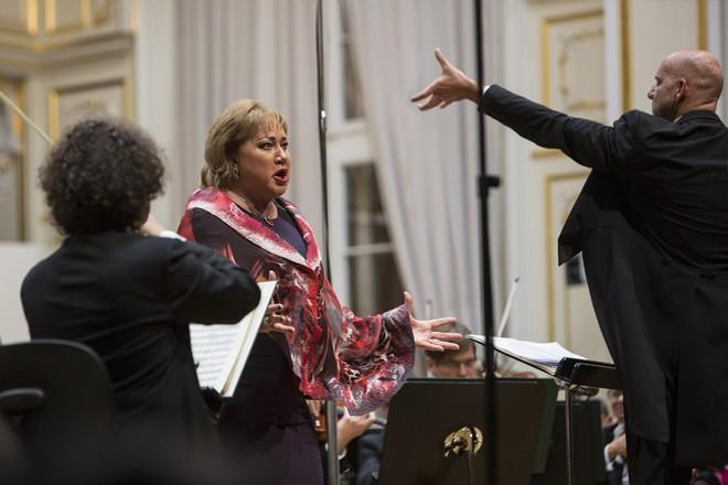 lovenská filharmónia - Emmanuel Villaume & Olga Borodina - Bratislavské hudobné slávnosti 25.9.2015 (foto Peter Brenkus)