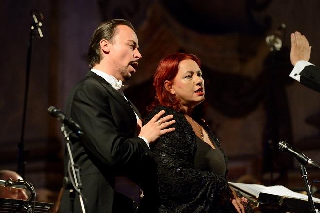 Litoměřické svátky hudby 2015 - Anda- Louise Bogza, Štefan Kocán - Jezuitský kostel Zvěstování Panně Marii Litoměřice (foto Jiří Kopuletý)