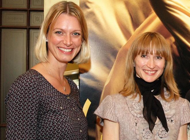 Johana Mücková a Daria Klimentová na Zlaté Prahe