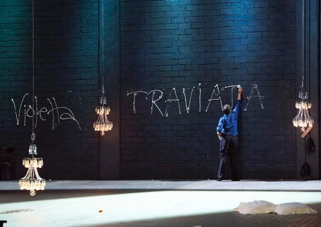 Guseppe Verdi: La traviata - Wiener Staatsoper Vídeň 2011