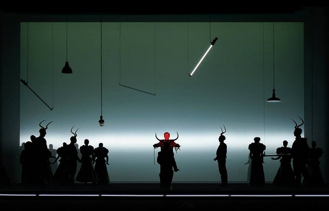 Giuseppe Verdi: La traviata – Matthäus Schmidlechner (Gaston) – Musiktheater 2015 (foto Olaf Struck)