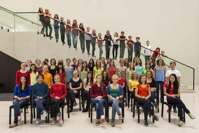 Filharmonický dětský sbor Drážďany (foto Marko Kubitz)