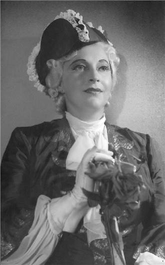 Antonín Dvořák: Šelma sedlák - Ludmila Červinková (Kněžna) - ND Praha 1949 (Foto Jaromír Heinrich)