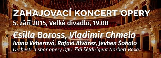Zahajovací koncert opery DJKT - pozvánka