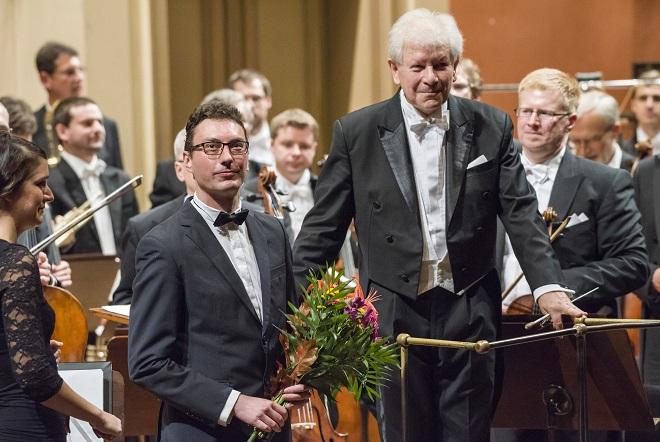 Jan Ryant Dřízal - Česká filharmonie - Jiří Bělohlávek - Rudolfinum 7.10.2015 (foto ČF)