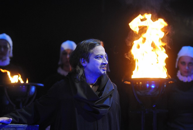 Puccini: Edgar - Paolo Lardizzone (Edgar) - DJKT Plzeň (foto Pavel Křivánek)