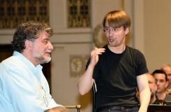 José Cura zkouší v Praze, poprvé jako skladatel
