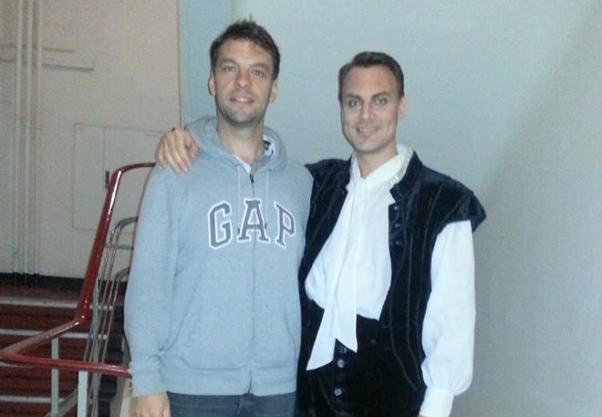 Gabor Bretz (Filip) a Pavel Černoch