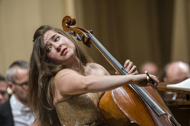 Alisa Weilerstein - Česká filharmonie - Jiří Bělohlávek - Rudolfinum 7.10.2015 (foto ČF)