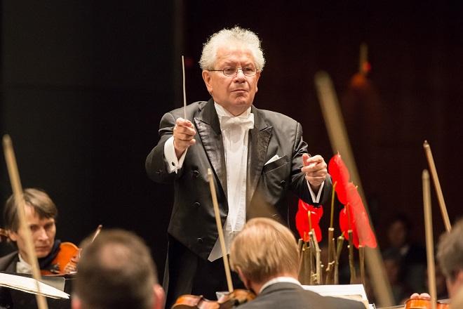 Česká filharmonie - Jiří Bělohlávek - Moravský podzim 2015 (foto Petr Francán)