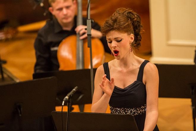 Dvanáct violoncell – Marie Fajtová – Brněnští violoncellisté – Moravský podzim 2015 (foto Petr Francán)