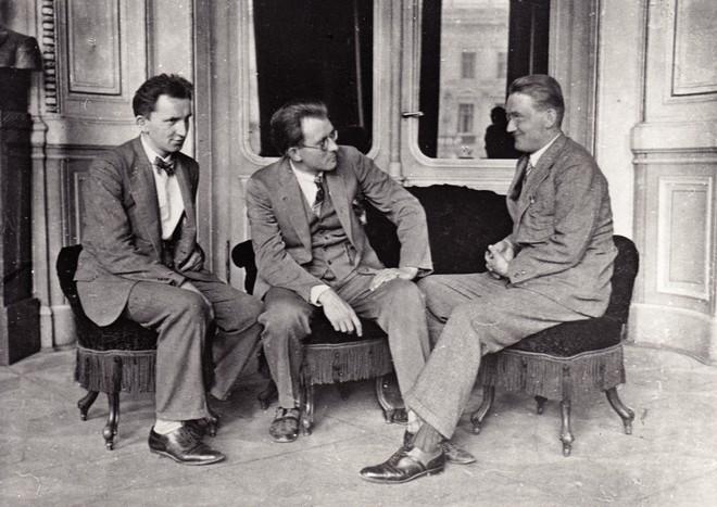 Břetislav Bakala, Zdeněk Chalabala, Antonín Balatka (foto archiv ND Brno)