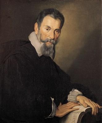 Claudio Monteverdi (malíř Bernardo Strozzi, 1630)