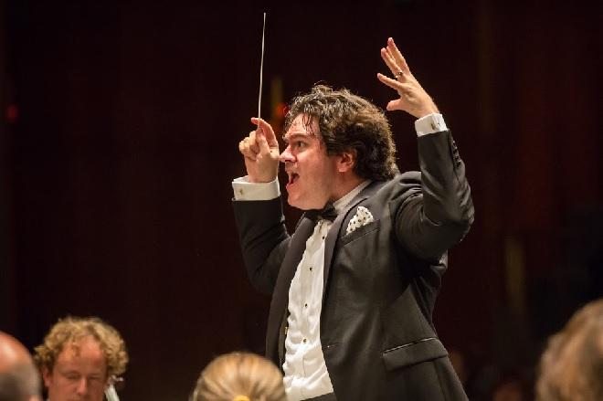Rotterdamská filharmonie ‒ Cristian Măcelaru ‒ Moravský podzim 2015 (foto Petr Francán)