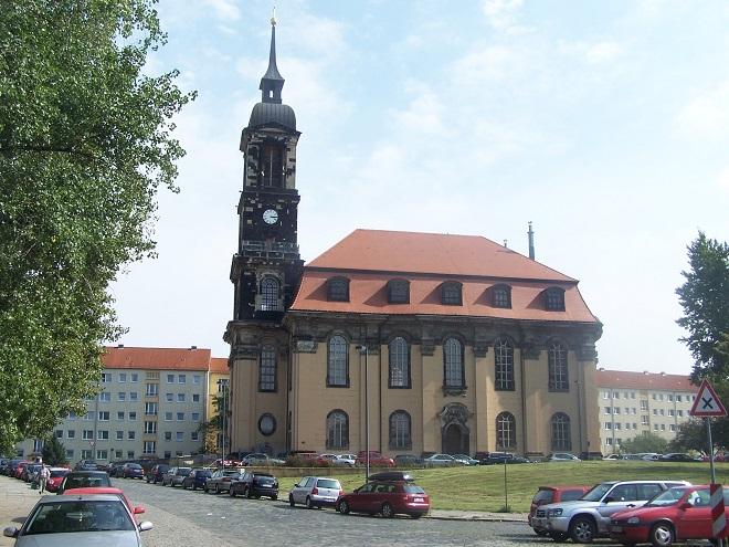 Annenkirche Drážďany (foto wikimedia.org)