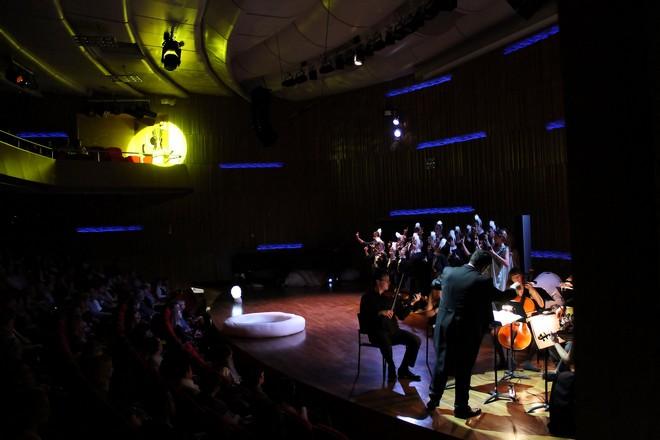 Henry Purcell: Královna víl - Pražská konzervatoř 2015 (foto Martin Pešava)