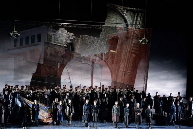 Michail Iwanowitsch Glinka: Iwan Sussanin – Oper Frankfurt 2015 (foto © Barbara Aumüller)