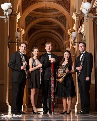 Nielsenovo dechové kvinteto (foto archiv ČSKH)