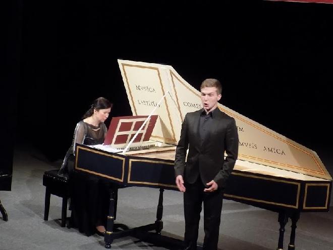 Zimní Třeboňská nocturna 2015: Petr Nekoranec (tenor), Edita Keglerová (cembalo) - Divadlo J. K. Tyla Třeboň 2015