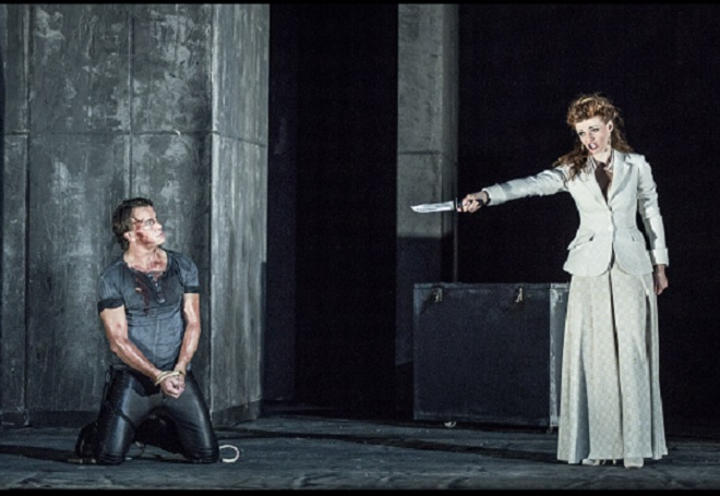 Vincenzo Bellini: Norma – zleva Aleš Briscein (Pollione), Marie Fajtová (Norma), (Foto: Patrik Borecký)