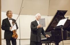 Janáček, Poulenc, Franck – sonáty pro housle a klavír v Bratislavě