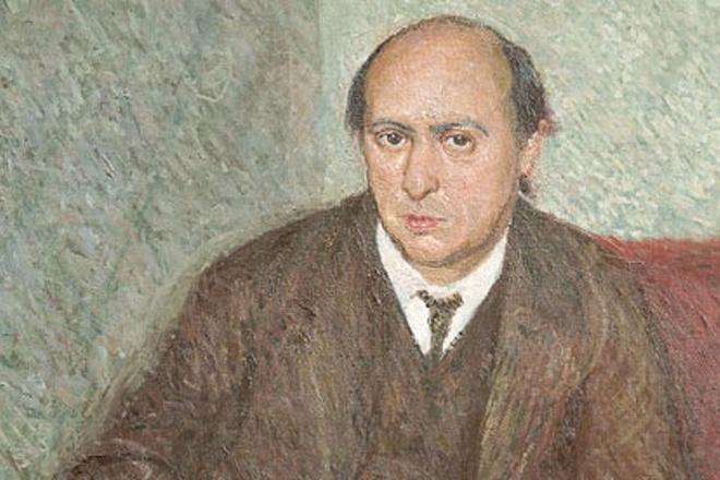 Arnold Schönberg (portrét od Richarda Gerstla - cca 1907)