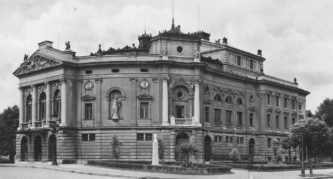 Budova Opery v Lublani
